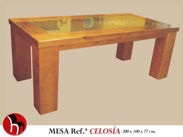 Mesa-Celosía · Muebles Peñalver