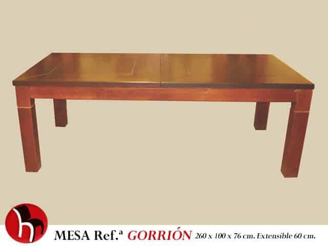 Muebles Peñalver · Mesa Gorrión
