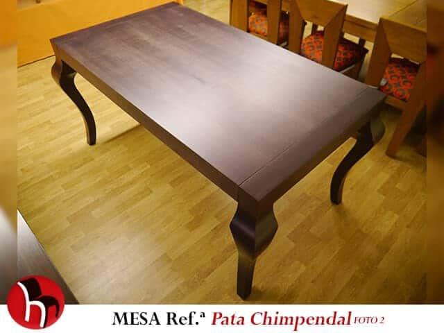 Muebles Peñalver · Mesa Pata Chimpendal foto 2