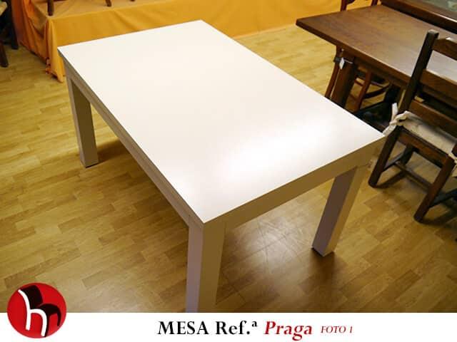 Muebles Peñalver · Mesa Praga foto 1
