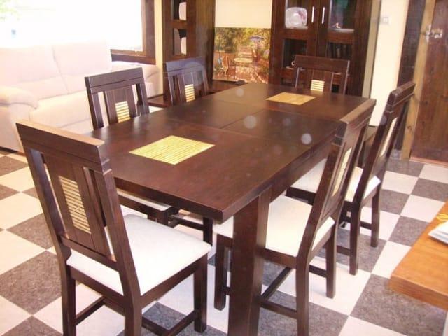 Muebles Peñalver · Mesa Ranura foto 2