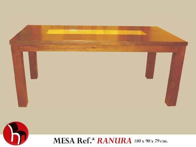 Muebles Peñalver · Mesa Ranura foto 1
