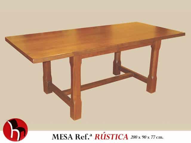 Muebles Peñalver · Mesa Rústica
