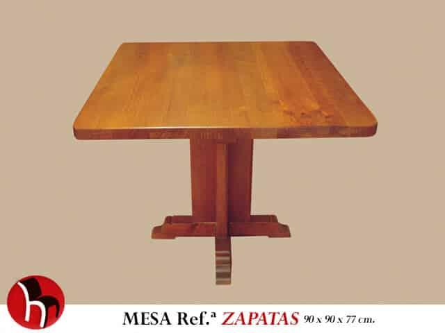 Muebles Peñalver · Mesa Zapatas
