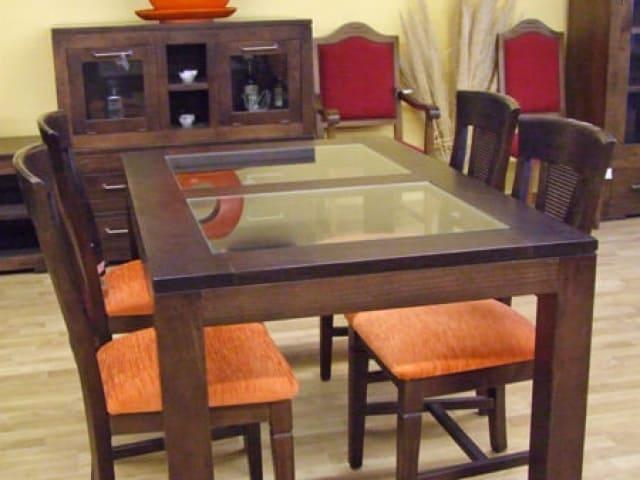 Muebles Peñalver · Mesa cristal