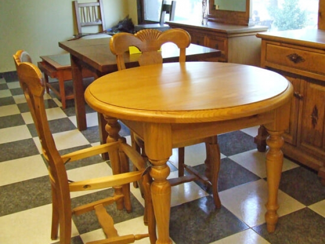 Muebles Peñalver · Mesa redonda