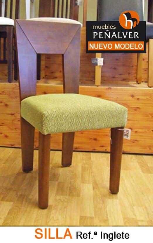 Silla Referencia INGLETE · Muebles Peñalver