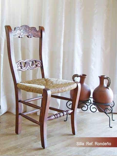 Silla Referencia RONDEñO · Muebles Peñalver