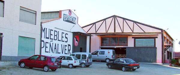 Muebles Peñalver · Fábrica y exposición