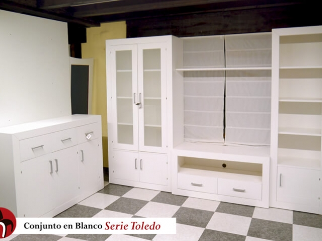 Salón serie Toledo · Muebles Peñalver