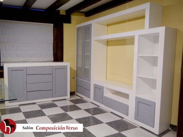 Salón composición Verso · Muebles Peñalver