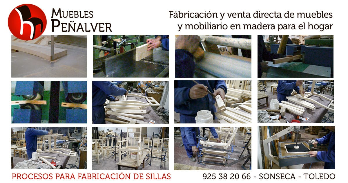 Proceso fabricacion sillas pe alver muebles y sillas - Muebles penalver ...