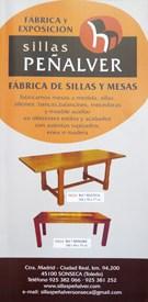 catalogo Muebles y Sillas Peñalver Sonseca
